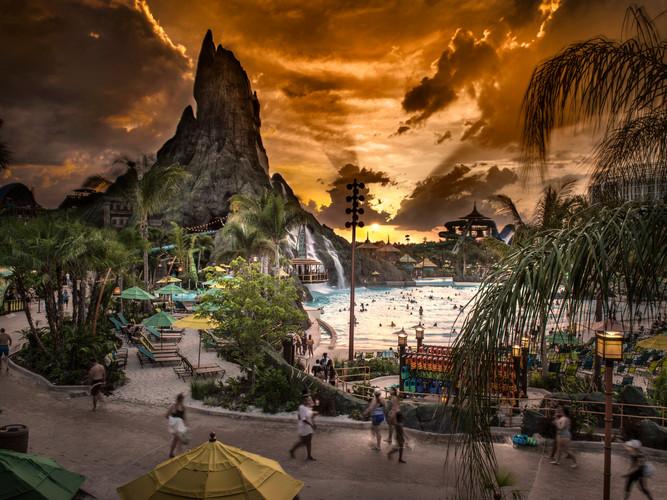 Universal Orlando's Volcano Bay