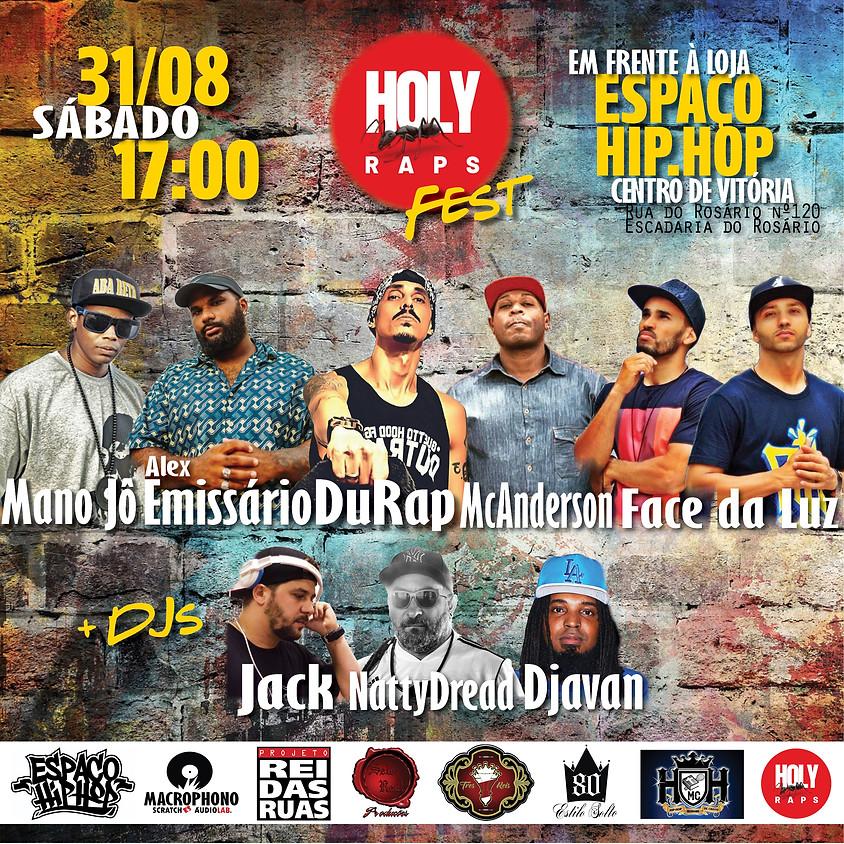 Lançamento do Site Holy Raps no Centro de Vitória