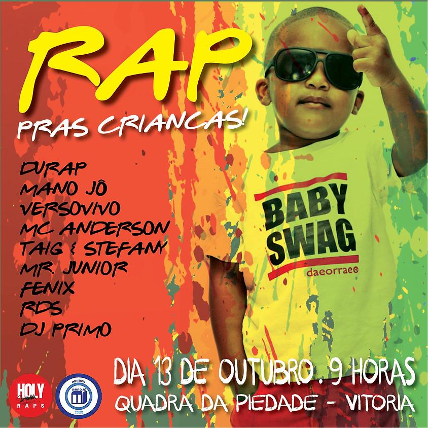 Rap pras Crianças, na Piedade em Vitória