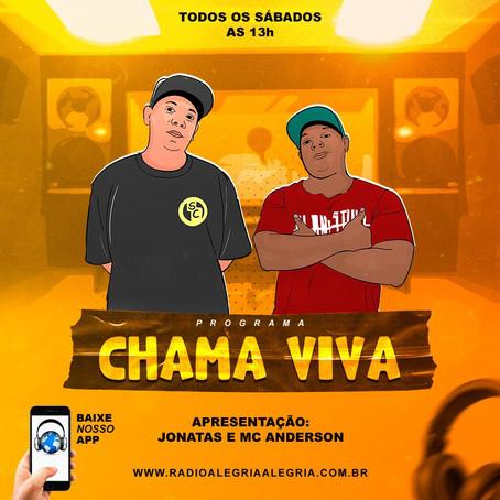 Programa Chama Viva traz o melhor do rap cristão nacional na Rádio Alegria Alegria