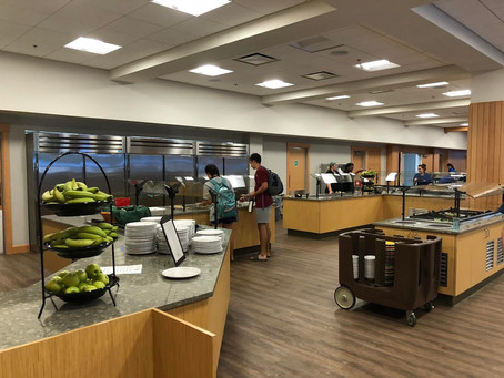 Dining Hours in the (air-conditioned!) William Boyd Center