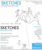 Sketches Postcard