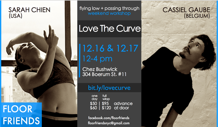 Love the Curve Workshop Flyer