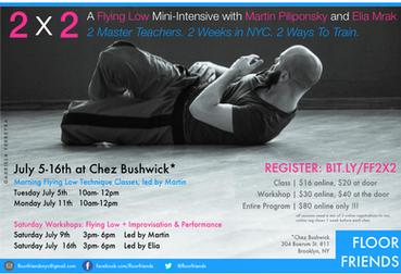 2x2 workshop promo with Martin Piliponsky and Elia Mrak