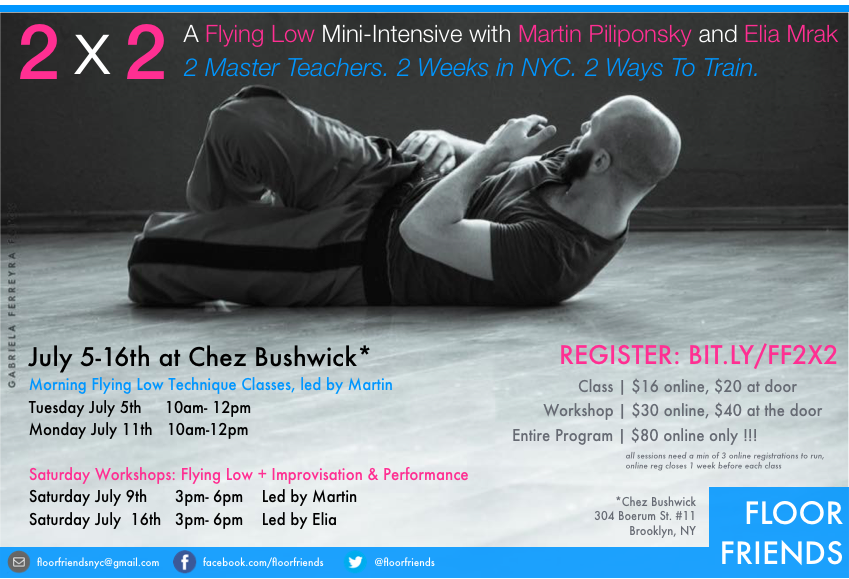2x2 workshop promo with Martin Piliponsky and Elia Mrak