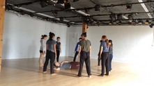 Sarah teaching for Dance to The People at BAX