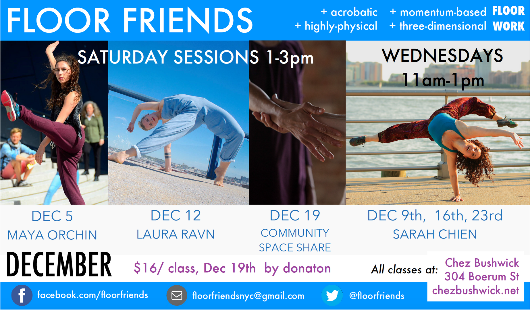 Floor Friends December 2015 flyer