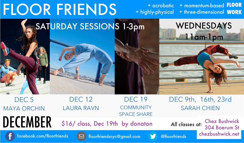 Floor Friends December 2015 flyer
