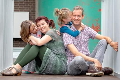 familieshoot Noordkade Veghel