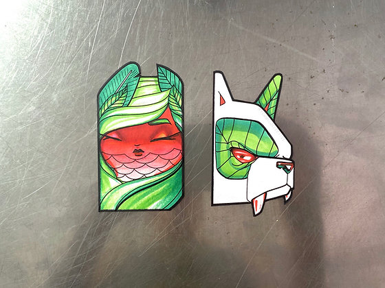 Watermelon Magnet Set - 2