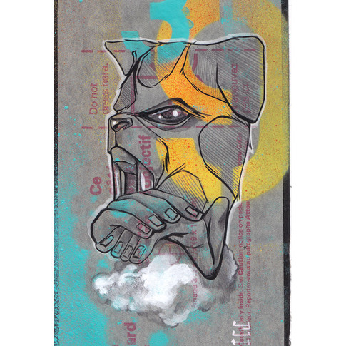 YuhmiCollective-FuDogSoul-9X5inches-2015
