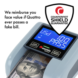 Quattro Counterfeit Shield Guarantee