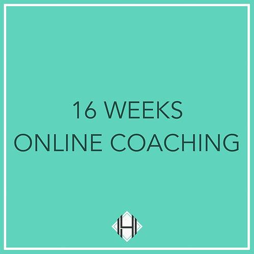 Sixteen Weeks (Online Coaching)