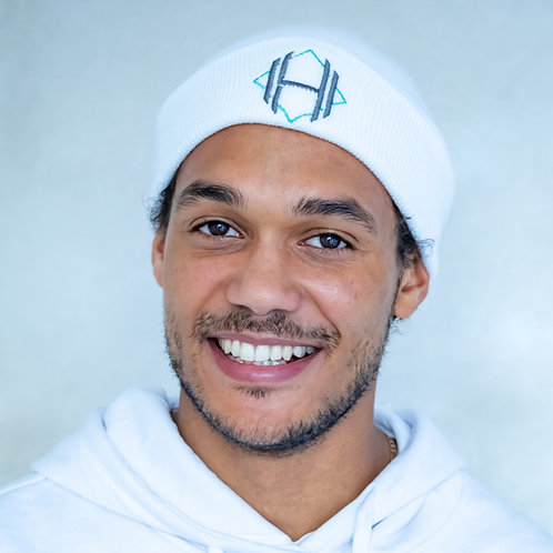 White Hat (Unisex) - Hunt For Habit Fitness & Personal Training