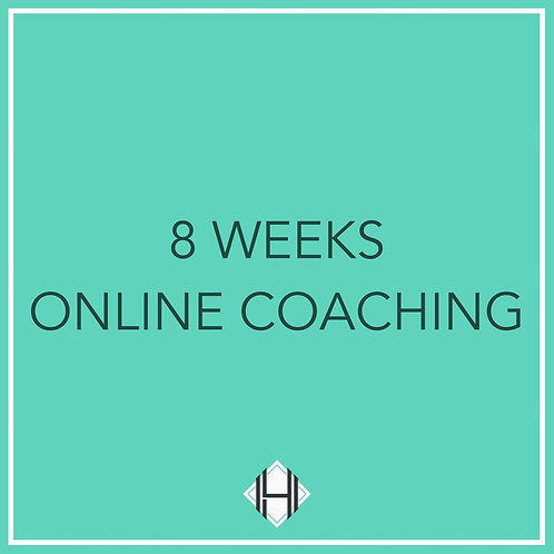 Eight Weeks (Online Coaching)