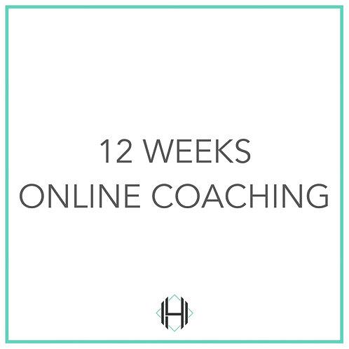 Twelve Weeks (Online Coaching)