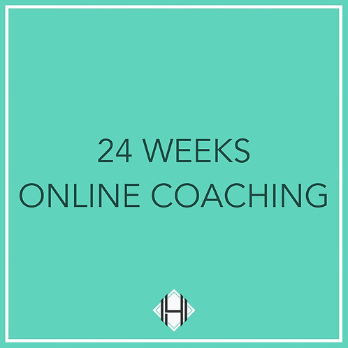 Twenty Four Weeks (Online Coaching)