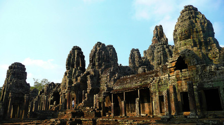 Le Bayon, Cambodge