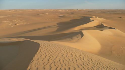 Désert du Sahara, environs de l'Oasis de Siwa, Egypte