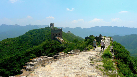 Grande Muraille, Jinshanling, Hebei, Chine