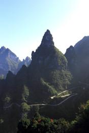Tianmenshan, Hunan, Chine