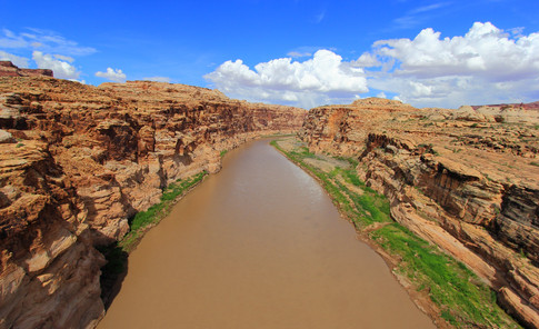 Colorado River, Utah, USA