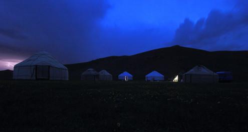 Lac Song Kol, Kyrgyzstan