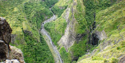 Canalisation des Orangers, La Réunion