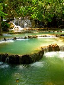 Cascades de Kuang Si, Laos