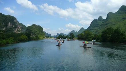 Rivière Li, Guangxi, Chine