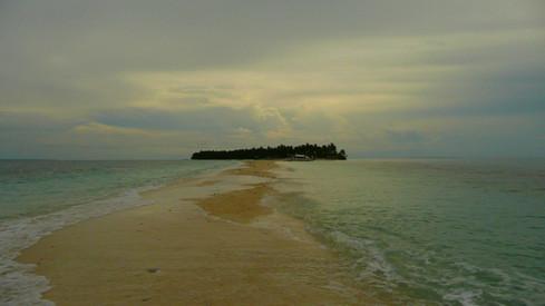 Satellite de Malapascua Island, Philippines