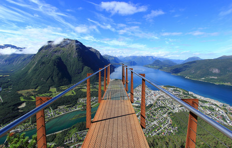 Andalsnes, Norvège