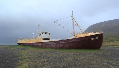 Garðar BA 64, Iceland