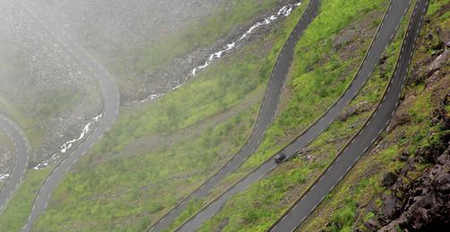 Trollstigen, Norvège