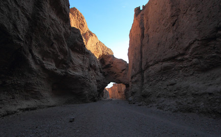 Natural Bridge Canyon, Death Valley NP, Californie, USA