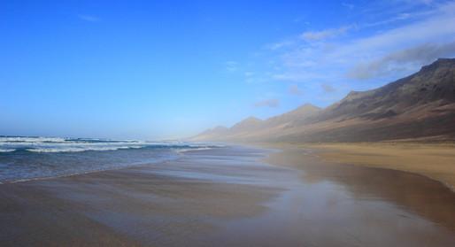 Playa de Cofete, Isla Fuerteventura, Les Canaries, Espagne