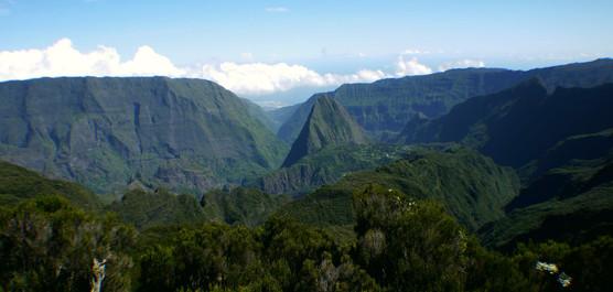 Crête d'Aurère, La Réunion