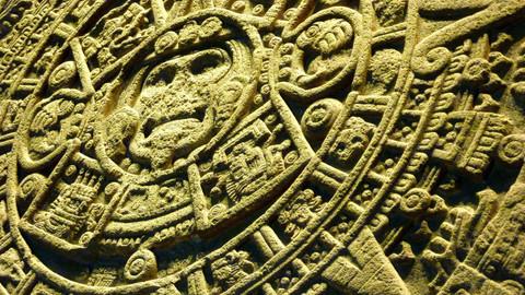 Piedra del Sol, Mexico City, Mexique