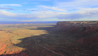 Muley Point Overlook, Road 261, Utah, USA