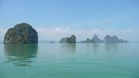 Baie de Phang Nga, Thailande