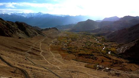 Route de Khardung-la, Ladakh, Inde
