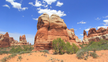 The Needles District, Canyonlands NP, Utah, USA