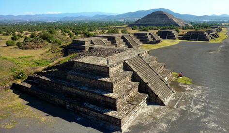 Teotihuacan, Mexico, Mexique