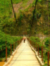photographe francais french photographer travel photography photographie voyage angle beauty composition perspective light colorful roadtrip colourful couleurs    cityscape city urban street architecture design construction structure bridge pont puente vanishing point landscape vietnam nord north man people crossing green landscape