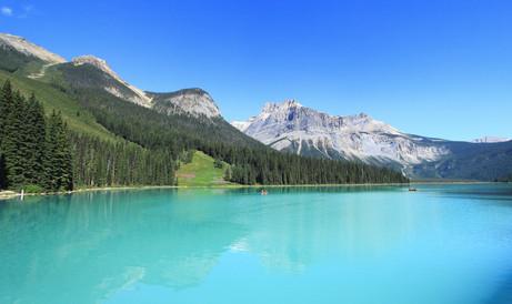 Emerauld Lake, British Columbia, Canada