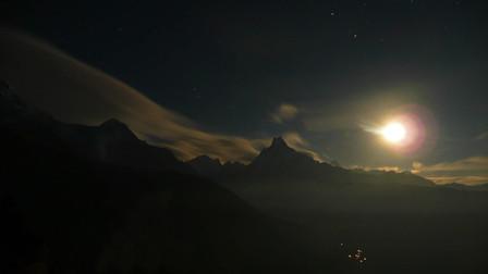Mont Machapuchare, Népal