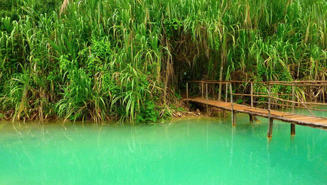 Aqua Azul, Chiapas, Mexico