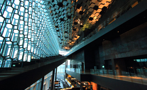 Opéra de Reykjavik, Islande