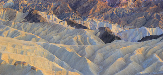 Zabriskie Point, Death Valley NP, Californie, USA