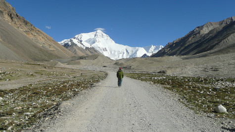 Mont Everest, Tibet